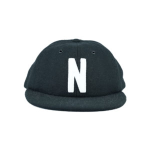 NORSE PROJECTS WOOL CAP - BLACK