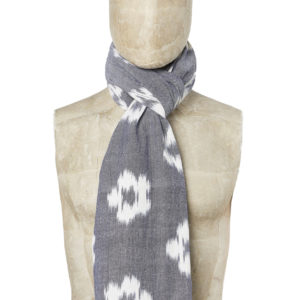 SHORT SCARF - GREY