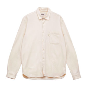 CURTIS ORGANIC COTTON HERRINGBONE SHIRT