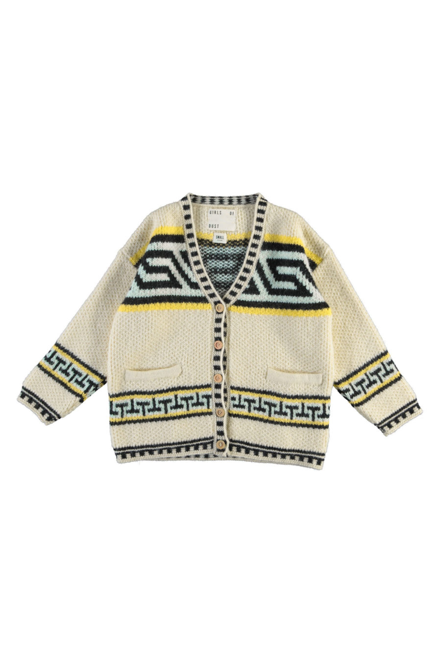 W-NATIVE CARDIGAN KNITTED